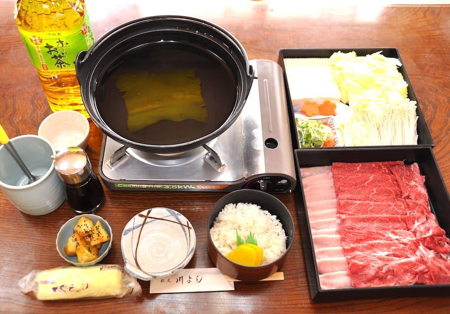 松尾 川よし 嵐山三種鍋